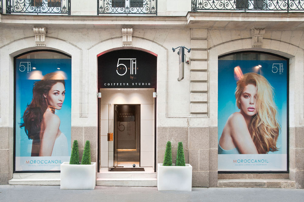 Salon de coiffure nantes 5th avenue by coiffeur studio for Enseigne salon coiffure